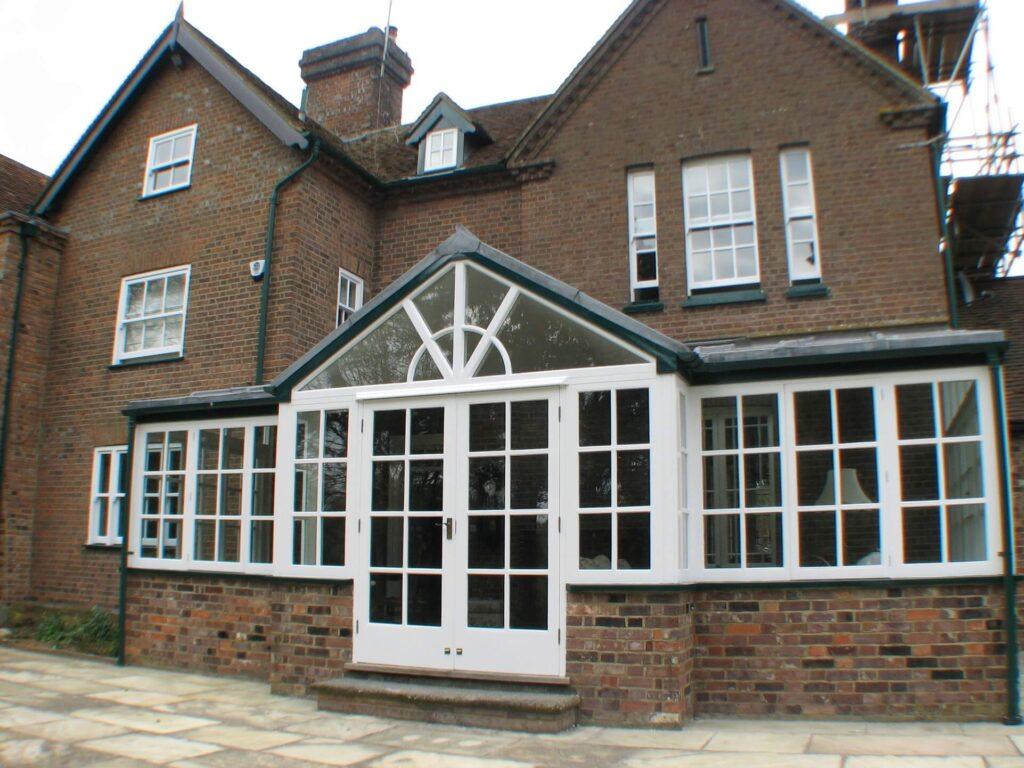 Wooden Conservatory restoration Luton